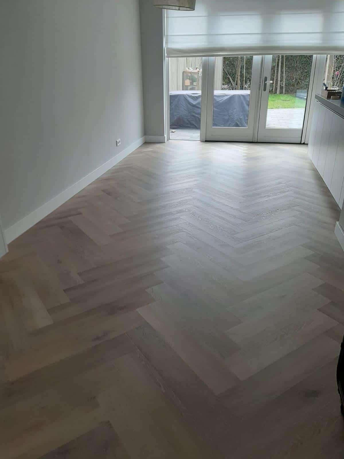 Visgraat vloer Odijk